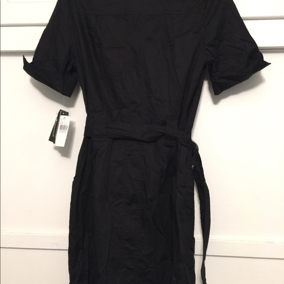 ABG Dresses & Skirts - Black stretch shirt dress
